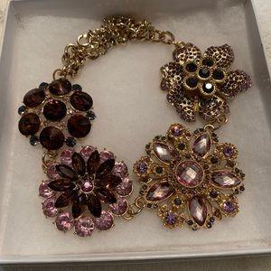 Susan Graver statement necklace